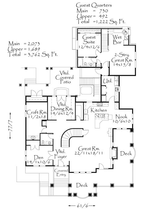 house plan of the week plan of the week 13 m 4984 mark stewart home design