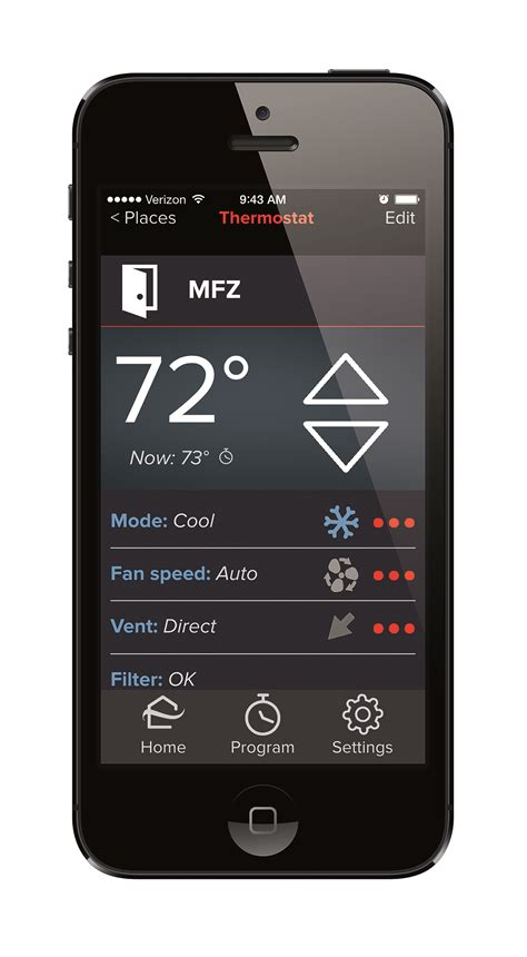 comfort control heating and cooling new residential app from mitsubishi electric controls