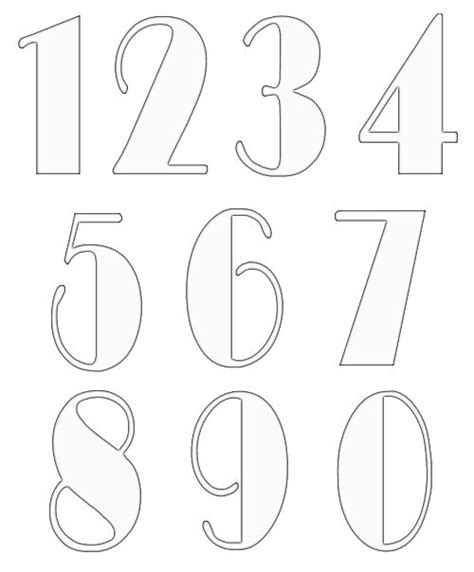 by the numbers template free numbers templates 2