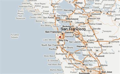 san francisco map location san francisco location guide