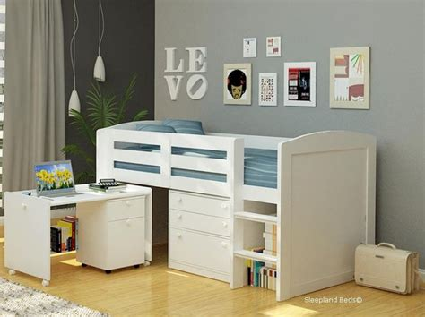 Childrens Cabin Beds With Desk by 1000 Ideas About Mid Sleeper On Mid Sleeper Beds Mid Sleeper Beds Ikea