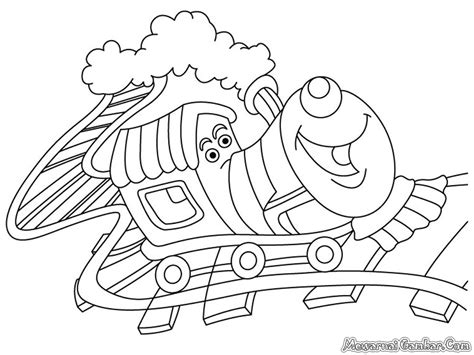 Kereta Frozen free coloring pages of elsa dan
