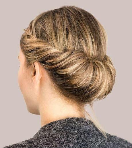 Hochzeitsfrisuren Mittellanges Haar by Leichte Hochsteckfrisuren F 252 R Mittellange Haare