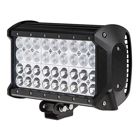 9 Led Light Bar 9 Quot Row Road Led Light Bar W Multi Beam Technology 85w 7 560 Lumens Led Work