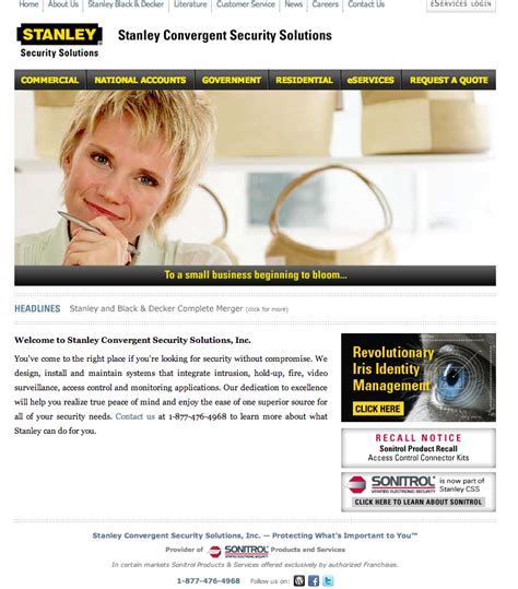 security systems stanley security systems