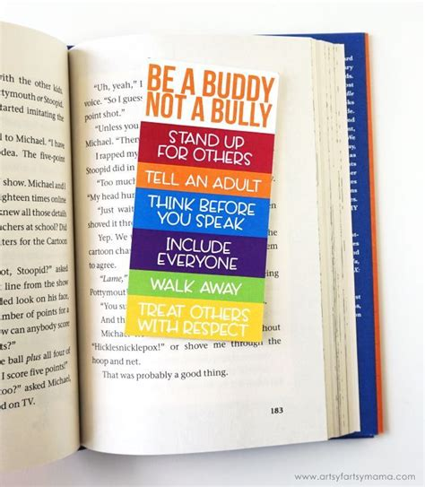 printable bullying bookmarks 260 best teacher gifts back to school images on pinterest