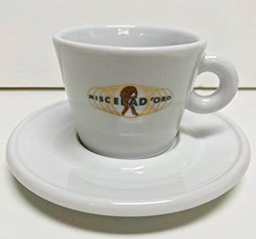 Miscela D?Oro Feldspathic Porcelain Cappuccino Cups with Saucers   Coffee Brewing Methods