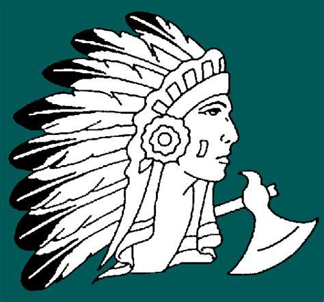 imagenes de penachos aztecas para colorear dibujo pluma indio imagui