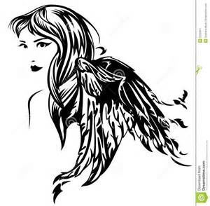 Harley Davidson Wall Mural angel vector royalty free stock photography image 25553917