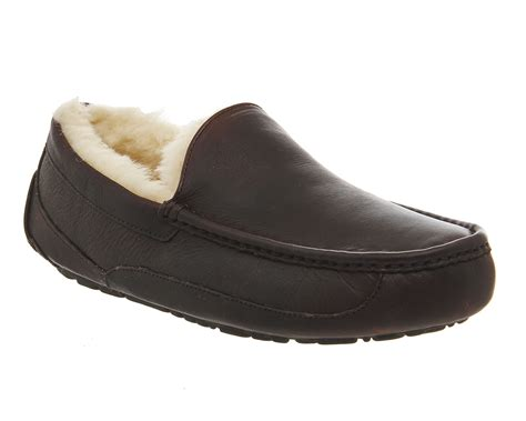 office slippers ugg australia ascot slippers china tea leather casual