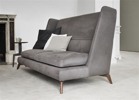 high backed sofas vibieffe class high back sofa contemporary furniture