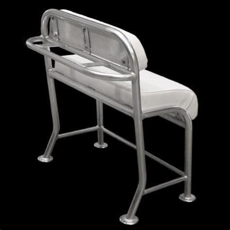 custom boat bench seat custom 38 inch aluminum vinyl boat leaning post seat frame