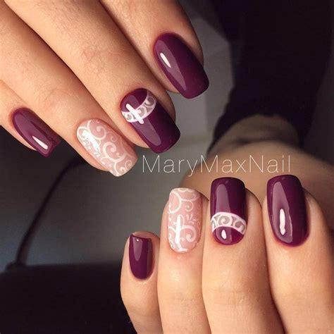 plum nail color best 25 plum nails ideas on