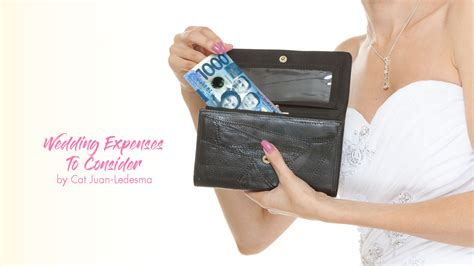 Wedding Expenses by Wedding Expenses To Consider Calyxta