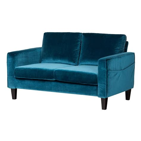 blue loveseats blue sofas and loveseats remarkable styles of blue living