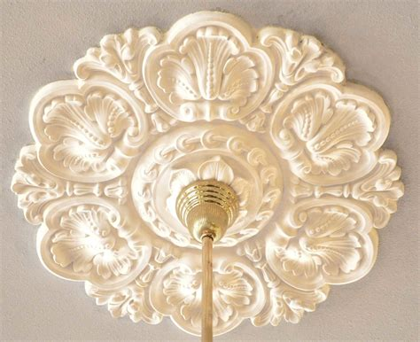 Light Fixture Medallion Vintage Hardware Lighting