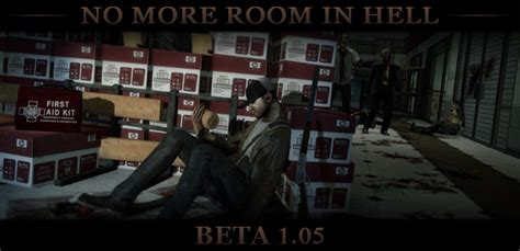 no more room in hell mods nmrih beta 1 05 release news no more room in hell mod for half 2 mod db