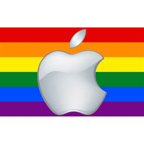 Mac Pride Pins Made From Apple by Apple Dow Chemical Levi Strauss Support Lgbt Non