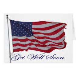 patriotic american get well card zazzle