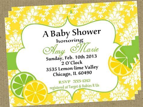 lemon and lime themed wedding invitations diy printable citrus lemon lime baby bridal shower invitation 10 00 via etsy vm 2015