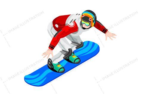 snowboard clipart snowboarder clipart winter sports image illustration