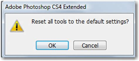 reset tool photoshop adobe photoshop resetting defaults on the options bar