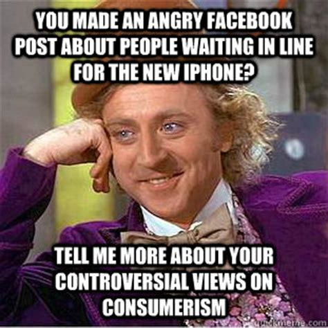 angry facebook post  people waiting