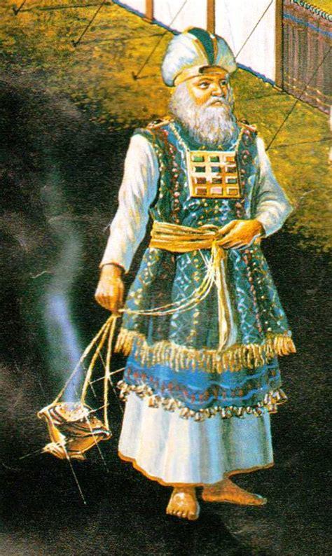 las vestiduras del sumo sacerdote de israel sumo sacerdote lino fino