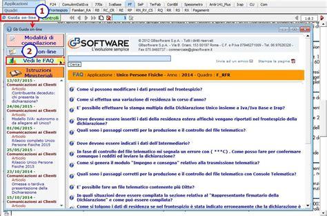 interno it verifica domande on line dichiarazione unico pf domande pi 249 frequenti