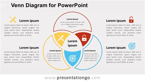 Venn Diagram For Powerpoint Presentationgo Com Venn Diagram Powerpoint Template