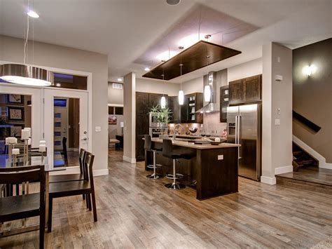 Open Kitchen Dining Room Designs Open Concept Kitchen Enhancing Spacious Room Nuance Traba Homes