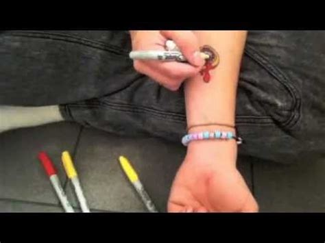 how to make sharpie tattoos last how to make a sharpie best method ink
