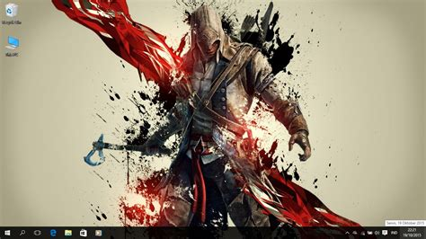 themes for windows 7 assassin creed assassin s creed 3 theme for windows 7 8 and 10 save themes