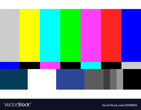 test pattern svg no signal tv test pattern television royalty free vector
