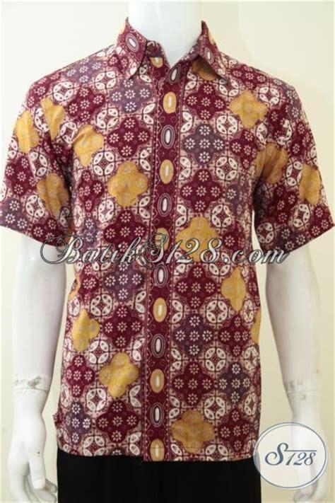 baju kemeja batik elegan pria untuk kondangan acara