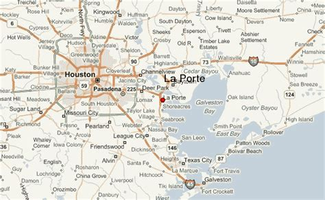 map of laporte texas la porte location guide