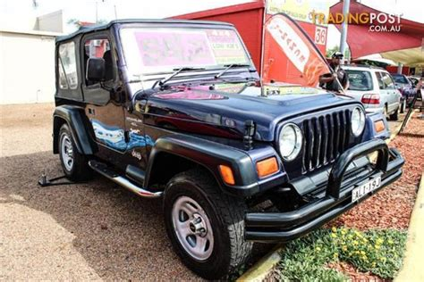 Jeep Wrangler For Sale Nsw 1997 Jeep Wrangler Sport 4x4 Tj 2d Softtop For Sale In
