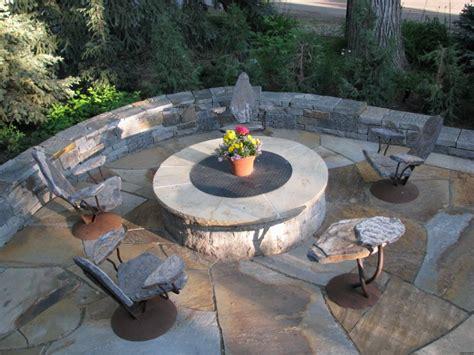 firepit seating pit seating stone2furniture outdoor furniture