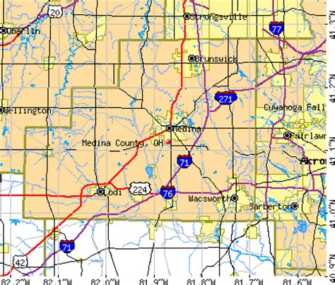 Medina County Search Pics For Gt Medina City Map