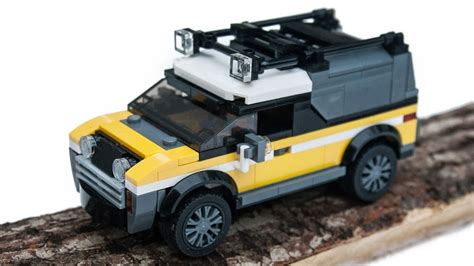 tutorial lego 4x4 red jeep 2017 lego city jungle 4x4 adventure car moc instructions