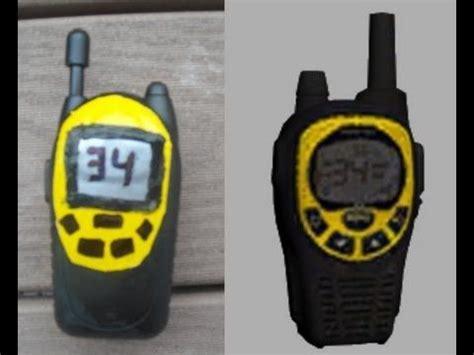 tutorial walkie talkie lara croft tomb raider walkie talkie tutorial how to make