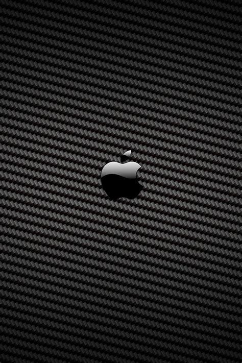 Apple Wallpaper Carbon | carbon fiber apple logo iphone 4 wallpaper and iphone 4s