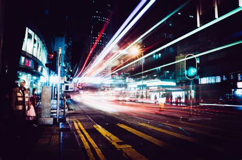 Hong Kong Light The Complex Light Combination Is