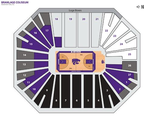what is a section 12 kansas state university online ticket office seating