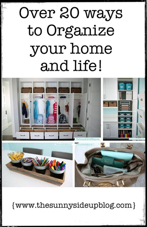 ways to organize your house over 20 ways to organize your home and life the sunny