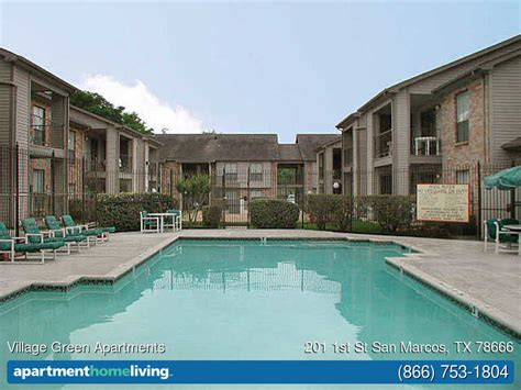 appartments in san marcos village green apartments san marcos tx apartments
