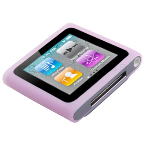 Doc Dances To Ipod Nano Tunes And Colors by Color Silicone Gel Rubber Soft Skin Cover For Apple