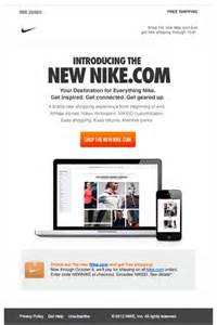 nike newsletter html email marketing design 편집 pinterest