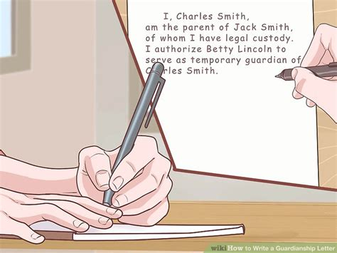 Custody Of Smiths Baby To Be Discussed by How To Write A Guardianship Letter With Pictures Wikihow