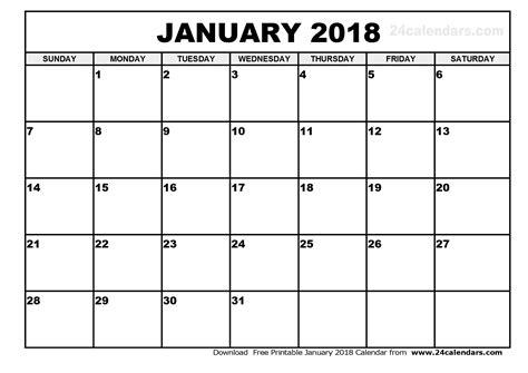 printable january 2018 calendar monthly planner floral design